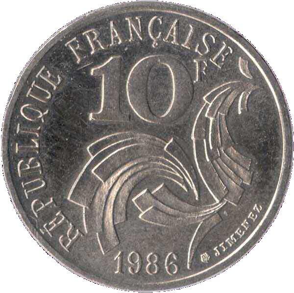 Pièce de 10 Francs Coq de Jimenez