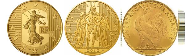 Pièece Euro Coq en 2014