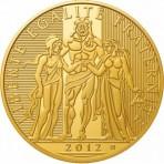 Pièce Or 5000 Euro Hercule 2012