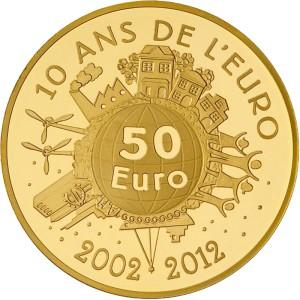 Semeuse 50 Euros 2012 - Pièce en or