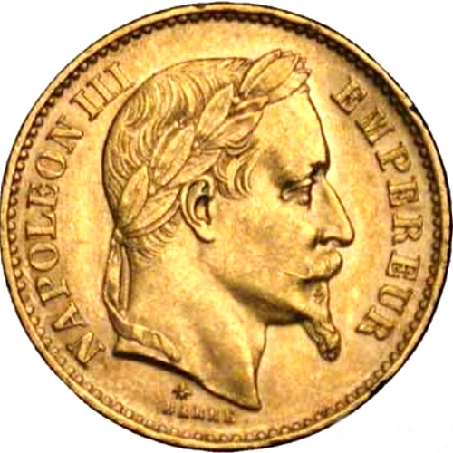 Piece 20 Francs Or napoléon