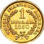 Pièce d'or d'un dollar