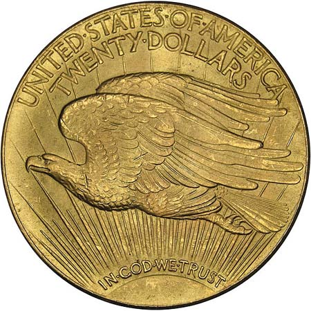 Piece 20 dollars US or Double Eagle