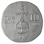 Pièce 10 Euros Argent Charlemagne