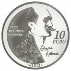Pièce de Monnaie 10 Euros Argent Cyrano de Bergerac