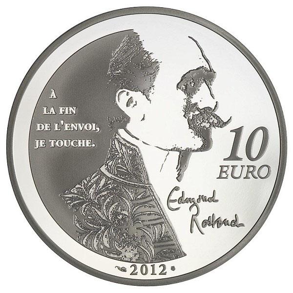 Revers de la pièce Cyrano - Edmond Rostand