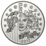 Pièce 10 Euros Argent Europa 2012 – 20 ans Eurocorps