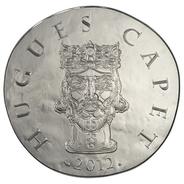 Hugues Capet - Pièce 10 Euros Argent