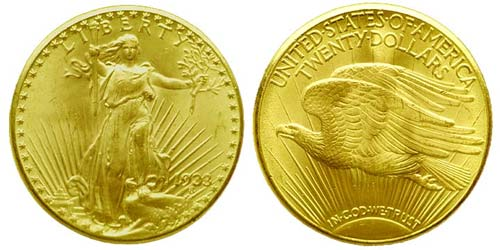 Piece Or DOuble Eagle de 1933 (20 Dollars)