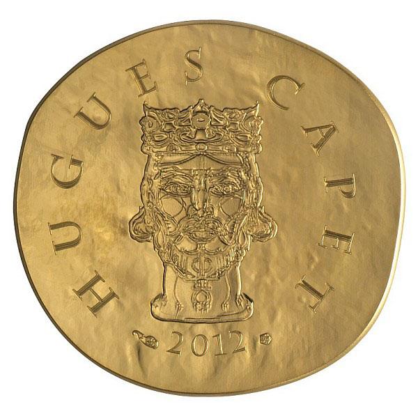 Hugues Capet sur la Pièce 50 Euros Or