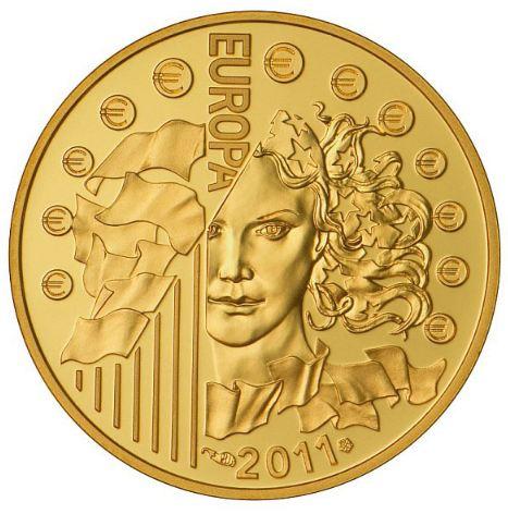 Pièce de Monnaie Or 50 Euros Fête de la Musique