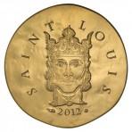 Pièce 50 Euros Or Saint Louis