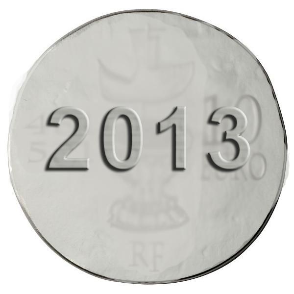 Pièce de Monnaie 10 Euros Argent Louis XI 2013