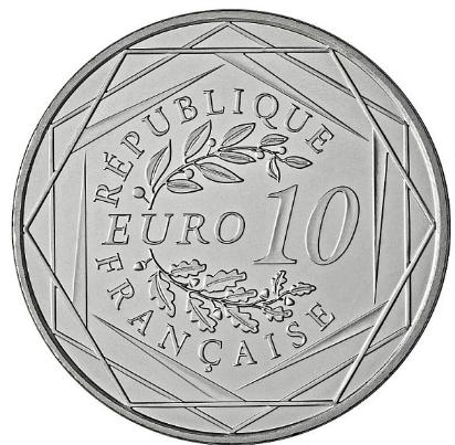 Pièce 10 euros en Argent Hercule 2013