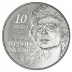 Pièce 10 euros argent Rudolf Noureev