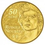 Pièce de Monnaie 50 euros Or Noureev